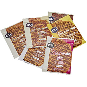 GU Energy StroopWafel Test Package 16x30g, 5 Varieties